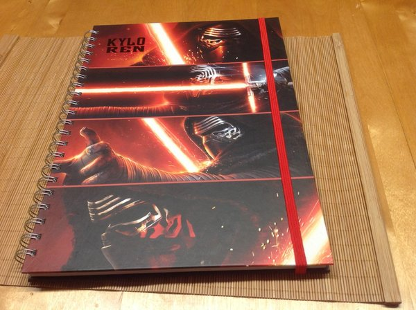 Notizbuch Star Wars Kylo Ren DIN A4