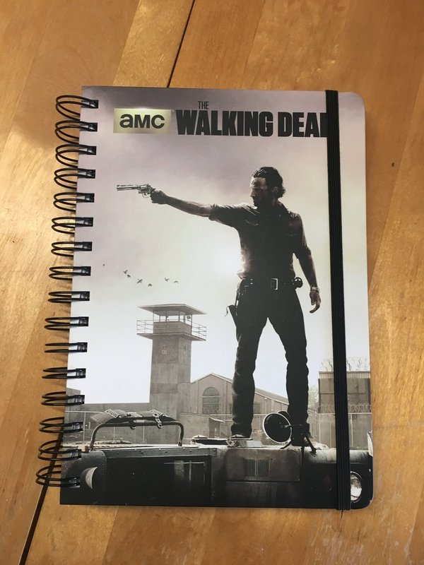 Notizbuch TWD The Walking Dead A5