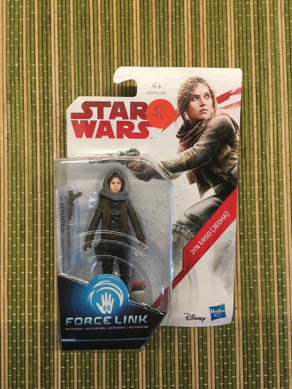Star Wars Hasbro Force Link Jyn Erso Jedha Actionfigur