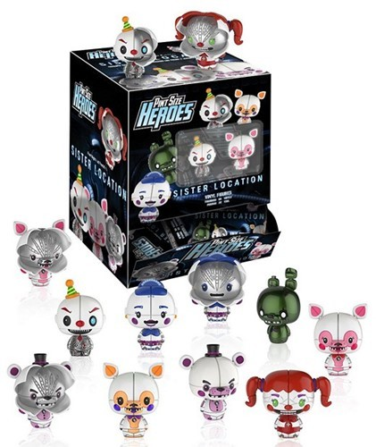 Five Nights at Freddys Mystery Heroes Figuren