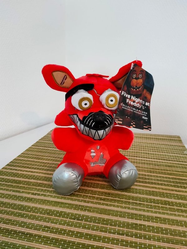 Five Nights at Freddys Foxy Nightmare Red Plüsch 18 cm