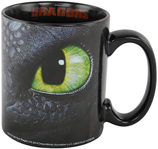 Dragons Ohnezahn Tasse