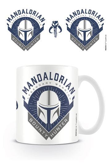 Star Wars The Mandalorian Bounty Hunter Kaffeetasse 0,3 l.