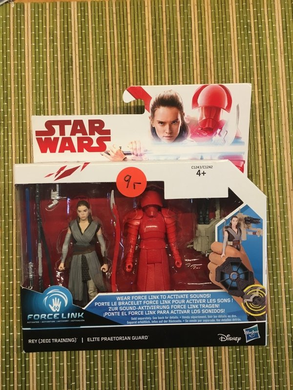 Star Wars Hasbro Force Link Doppelpack Rey Jedi / Elite Praetorian Guard