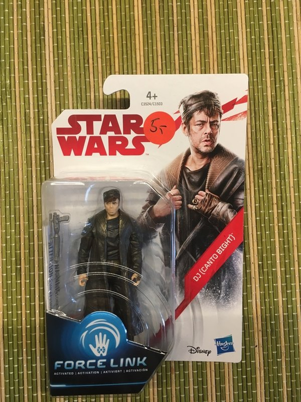 Star Wars Hasbro Force Link DJ Canto Bight Actionfigur