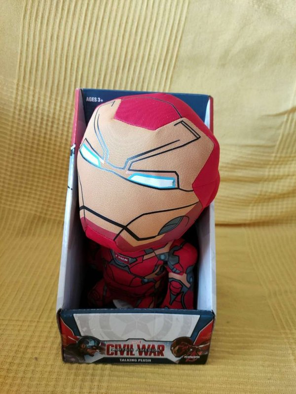 Avengers Civil War Plüschfigur Ironman mit Sound