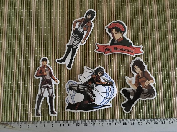 Sticker 890 - Anime Serie Attack on Titan Fanart Aufkleber