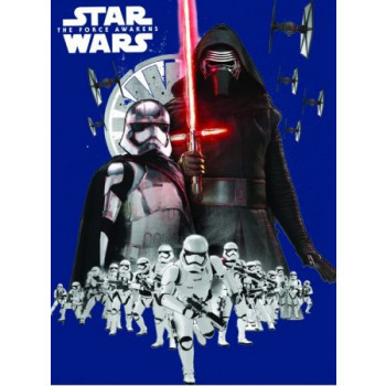 Star Wars Tagesdecke Vlies Bettdecke 150 x 200 cm