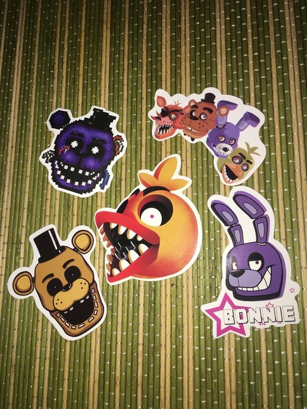 Sticker/Aufkleber Fanart - Five Nights at Freddys - 814