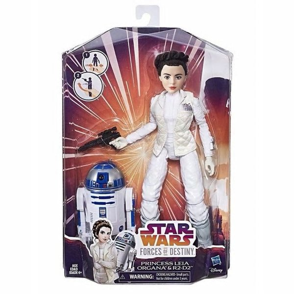 Star Wars Forces of Destiny Friends - Prinzessin Leia und R2D2